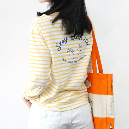 HelloGeeks Stripe Top