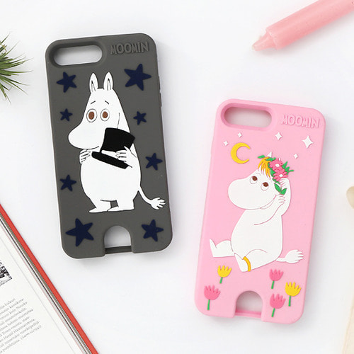Moomin iPhone 7 Plus Card Pocket Case