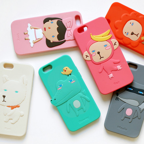 HelloGeeks iPhone 6S/6 Sillicon Case