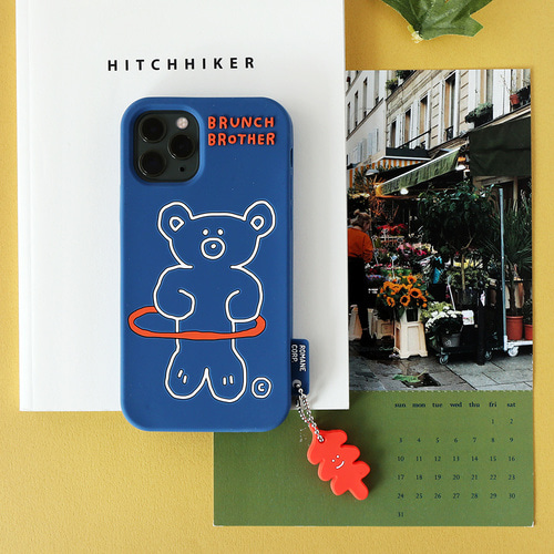 Brunch Brother 홀라베어 실리콘 케이스 for iPhone 6/6S/7/8/SE2, X/XS, 11, 11pro, 11pro max