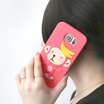 HelloGeeks Galaxy S6 Sillicon Case