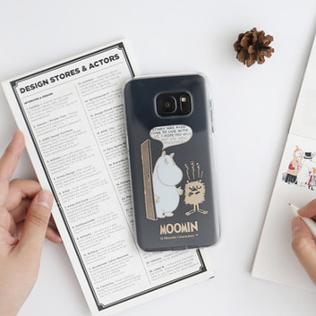 Moomin Galaxy S7 Edge 소프트 케이스